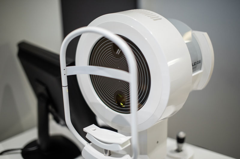 Dr Jimmy Lim JL Eye Specialists Galilei G6 Lens Professional Device Front Zoom