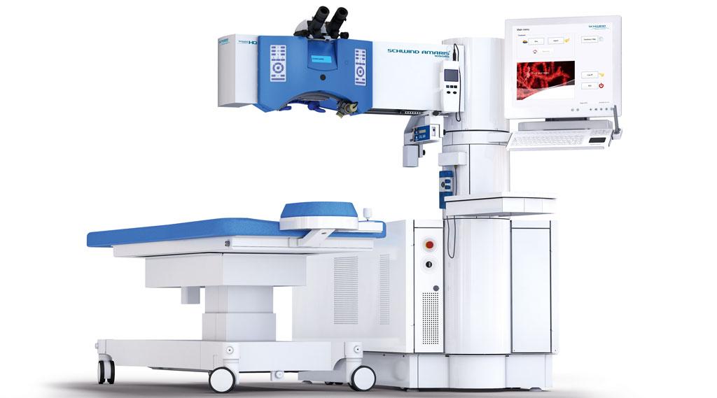 Dr Jimmy Lim JL Eye Specialists SCHWIND AMARIS® 1050RS Excimer Laser system side view