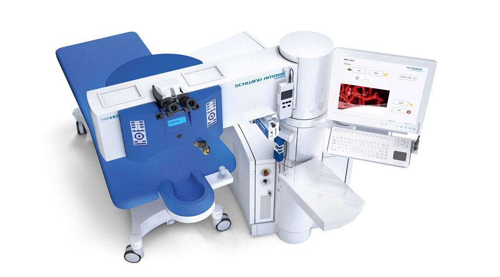 Dr Jimmy Lim JL Eye Specialists SCHWIND AMARIS® 1050RS Excimer Laser system top view
